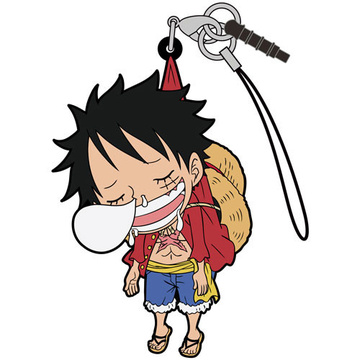 main photo of One Piece Tsumamare Pinched Strap: Monkey D. Luffy Dozing Ver.