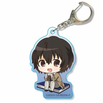 main photo of Bungo Stray Dogs DEAD APPLE Nayamun Acrylic Keychain: Osamu Dazai