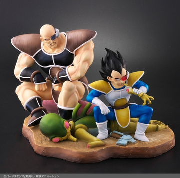 main photo of Dragon Ball Allies Nappa & Vegeta Normal color Ver.