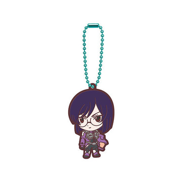 main photo of Mobile Suit Gundam 00 Capsule Rubber Mascot 02: Tieria Erde