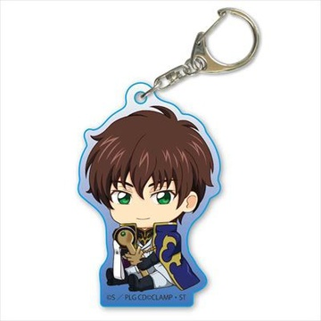 main photo of Code Geass: Lelouch of the Rebellion Gyugyutto Acrylic Keychain: Suzaku