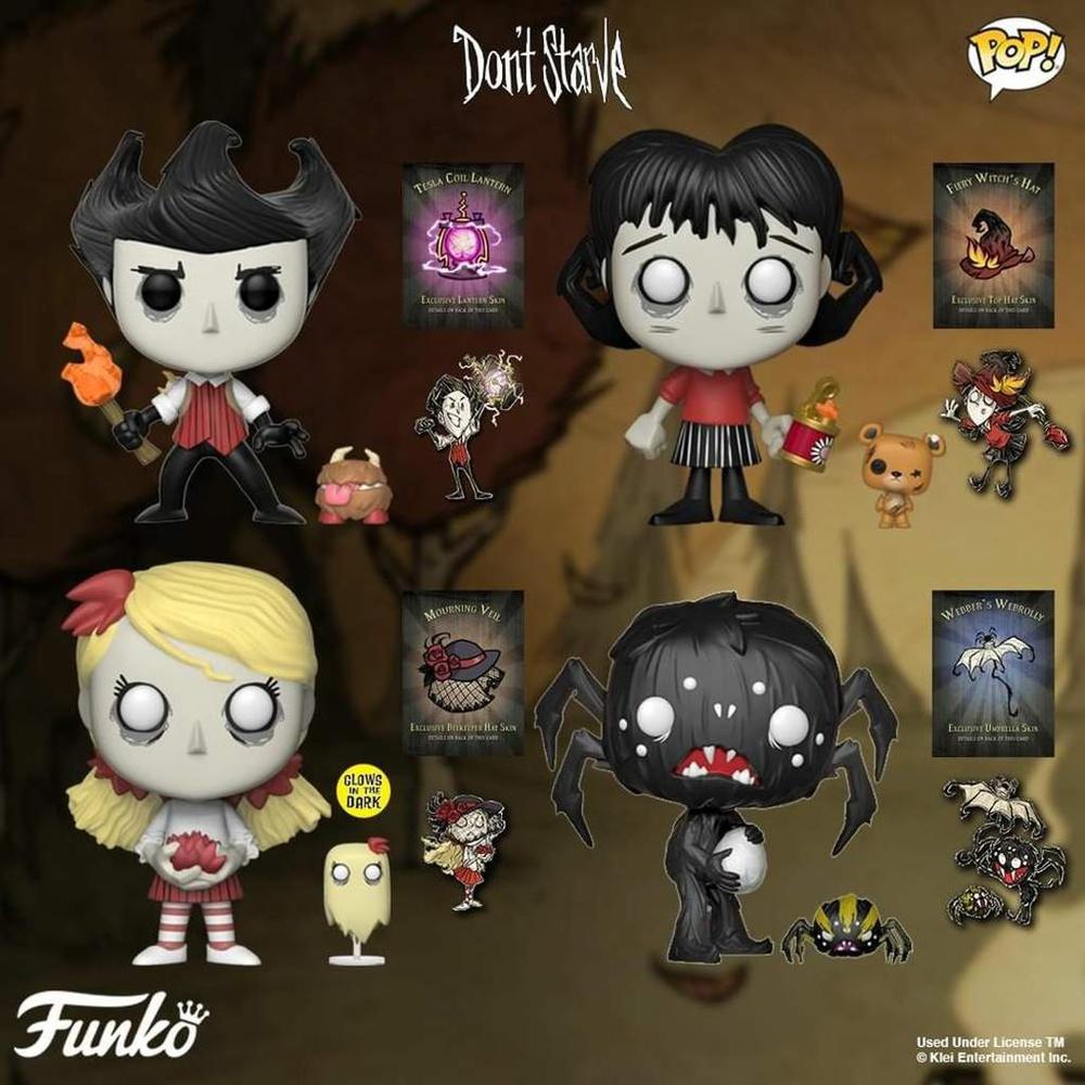 Don /'t Starve-Wendy and Abigail 402 glows in the dark-Funko Pop! VINILE figu
