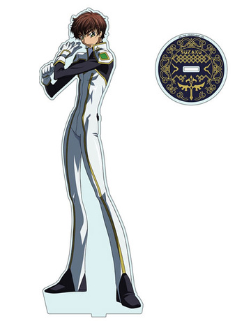 main photo of Code Geass: Lelouch of the Rebellion R2 Acrylic Figure L: Suzaku