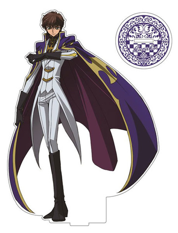main photo of Code Geass: Lelouch of the Rebellion Acrylic Figure LL: Suzaku Kururugi Knight of the Round Ver.