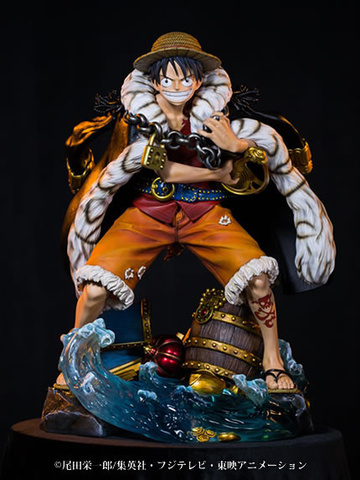 main photo of Log Collection Statue Monkey D. Luffy
