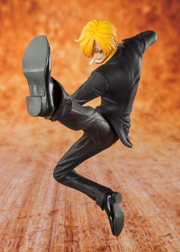 main photo of Figuarts ZERO Black Leg Vinsmoke Sanji