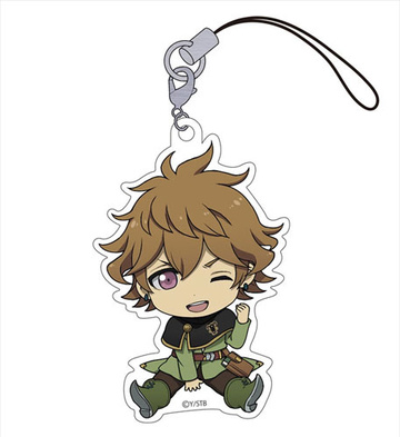 main photo of Black Clover Petanko Trading Acrylic Strap: Finral