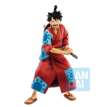 main photo of Ichiban Kuji One Piece Kyoku no Kengou-tachi: Monkey D. Luffy Tarou Ver.