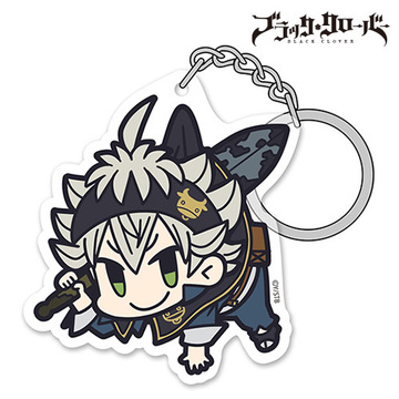 main photo of Black Clover Acrylic Pinched Keychain: Asta
