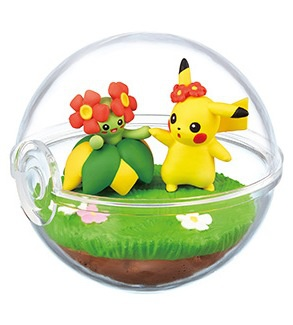 main photo of Pocket Monsters Terrarium Collection 6: Pikachu & Kireihana