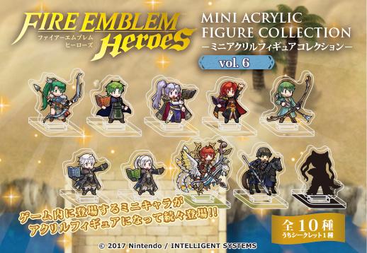 Fire Emblem Heroes 1/'/' Lyndis Acrylic Stand Figure Vol 6 Anime Manga NEW