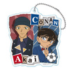 photo of Detective Conan Twin College Series Acrylic Keychain: Conan & Akai