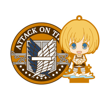 main photo of Attack on Titan Rubber Stand: Armin Arlert