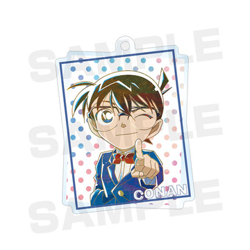 main photo of Detective Conan Trading Ani-Art Acrylic Keychain vol.3: Conan
