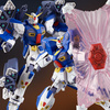 photo of MG F90 Gundam F90 Mission Pack B-Type and K-Type