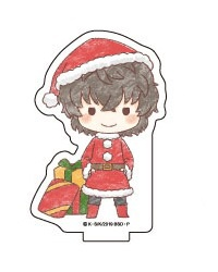 main photo of Acrylic Petite Stand Bungo Stray Dogs 04 / GraffArt Design Christmas ver.: Osamu Dazai