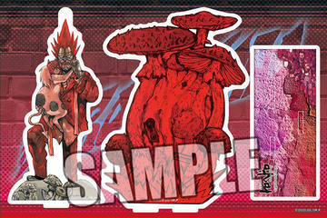 main photo of Dorohedoro Acrylic Stand Set: En & Kikurage