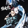 photo of Kamado Tanjirou Tenth Style: The Dragon of Change (Transparent)
