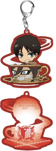 main photo of Shingeki no Kyojin Trading Acrylic Keychain Cup-in Series: Eren Yeager