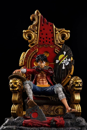 main photo of Monkey D. Luffy on Throne