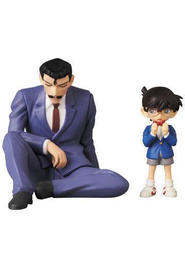 main photo of Ultra Detail Figure No.567 Sleeping Kogoro & Edogawa Conan