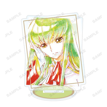 main photo of Code Geass Re;surrection Trading Ani-Art Acrylic Stand vol.3: C.C.