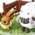 Pocket Monsters Terrarium Collection EX ~Galar Chihou Hen~: Wooloo & Eievui