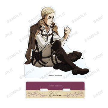 main photo of Attack on Titan BIG Acrylic Stand: Erwin