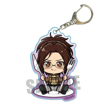 main photo of Gochi Chara Acrylic Keychain Attack on Titan: Hanji Zoe