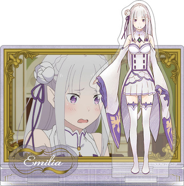 main photo of Re:ZERO -Starting Life in Another World- Multi Acrylic Stand: Emilia