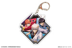 photo of Gintama THE FINAL Deka Acrylic Keychain: Gintoki & Shinpachi & Kagura