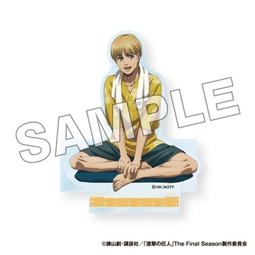 main photo of Shingeki no Kyojin x Gokurakuyu Raku SPA Acrylic Stand: Armin Arlert