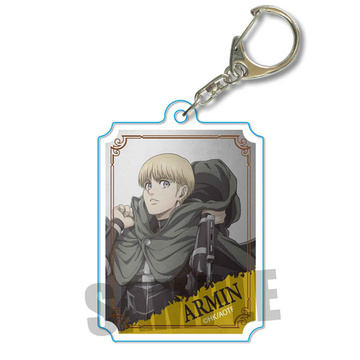 main photo of Wall Keychain Attack on Titan: Armin