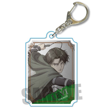 main photo of Wall Keychain Attack on Titan: Levi